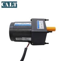 220V VTV YN80 40 AC small 3 wires gear motor 1:50 reduction ratio ouput speed 30rpm single phase motor 40W