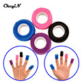 Nail protector 2.5cm*4.5m DIY 4 Rolls/Lot Self-adhesive Elastic Nail Art Finger Bandage Manicure Protective FRMR054-48W