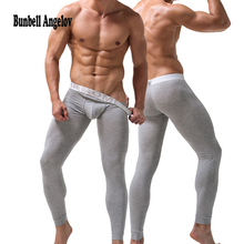 Mens Thermo Underwear Long Johns Men Modal Winter Warm Thermal Underwear Brand Male Outdoors Thermals Anti-microbial cheap BNK3 Bunbell Angelov In the lumbar Cotton Pants Knitting warm pants plain M L XL XXL warm waist hips elastic breathable antibacterial