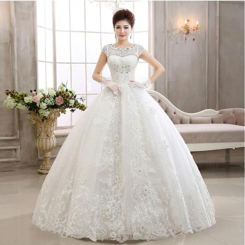 Clear Stock Size M 5 Style Wedding Dress Cheap Wedding Dress Made In China