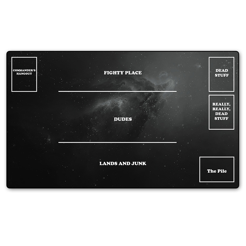 Board Magical Cards Games Playmat With Zone Play Mat