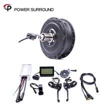 Водонепроницаемая Задняя кассета Shengyi Dgw22c 48v500w, комплект для переоборудования электрического велосипеда, бесщеточный мотор концентратор с EBike system, 2020