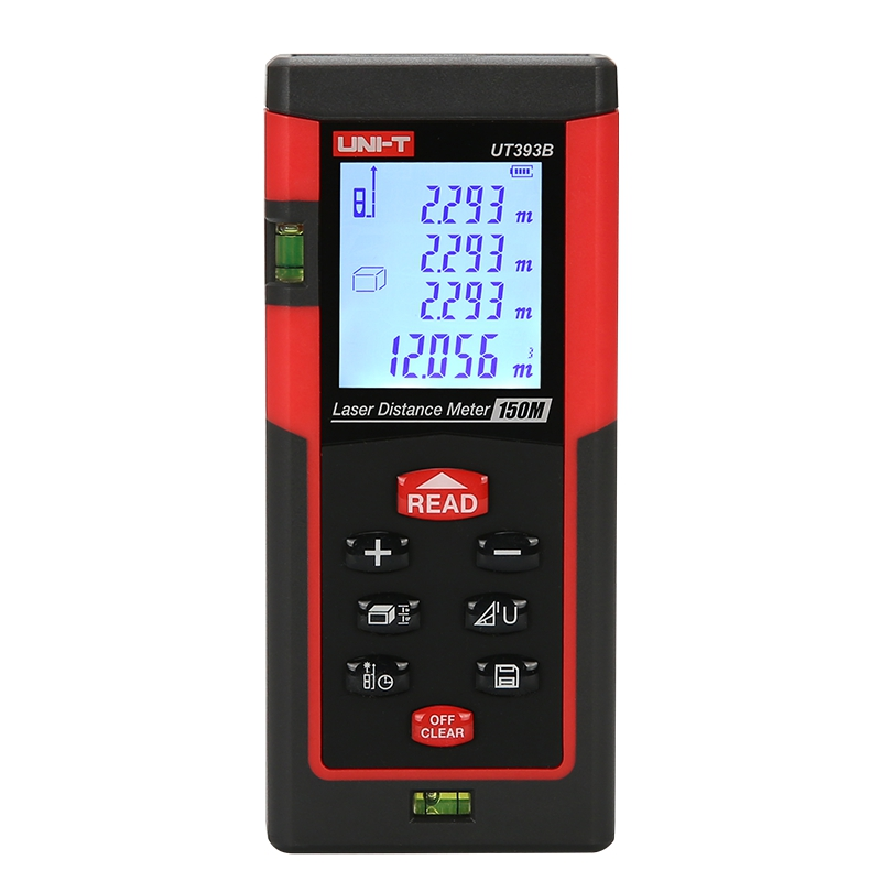 UNI-T UT393b Digital Laser distance meter 150m Tape measure Disitance/Area/volume M/Ft/in Rangefinder Range finder Ruler Roulet