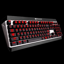 Cougar ATTACK X3 Professional Gaming Esport Cherry MX Mechanical Keyboard Brown Switch 10 Programmable Keys LED Backlit for LOL
