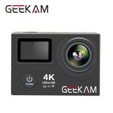 GEEKAM H3 4K wifi Action Camera Ultra HD 1080P 60FPS Go 30M Waterproof Pro Hero 4 Style photo Video Camera Helem Cam Sport DV