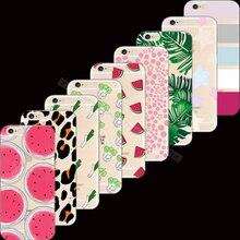 Высокое Качество Живописи Сладкие Фрукты Кремния Телефон Случаях Обложка Для Apple iPhone 6 iPhone 6 S iPhone6S iPhone6 4.7 »Case Случаях лучший