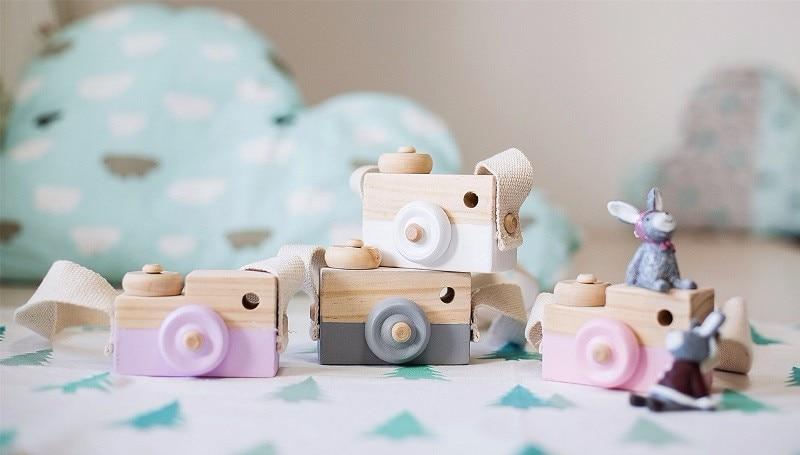 Piękne śliczne drewniane zabawki dla dzieci Wystrój pokoju - Wystrój domu - Zdjęcie 5