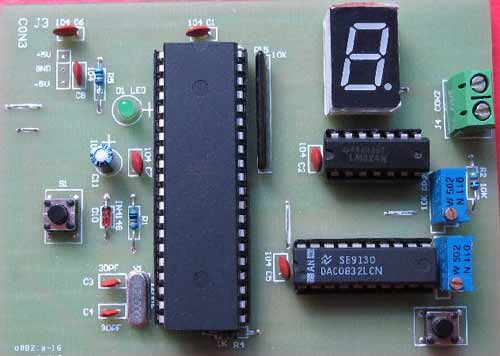 MCU function signal generator KIT Parts graduate curriculum