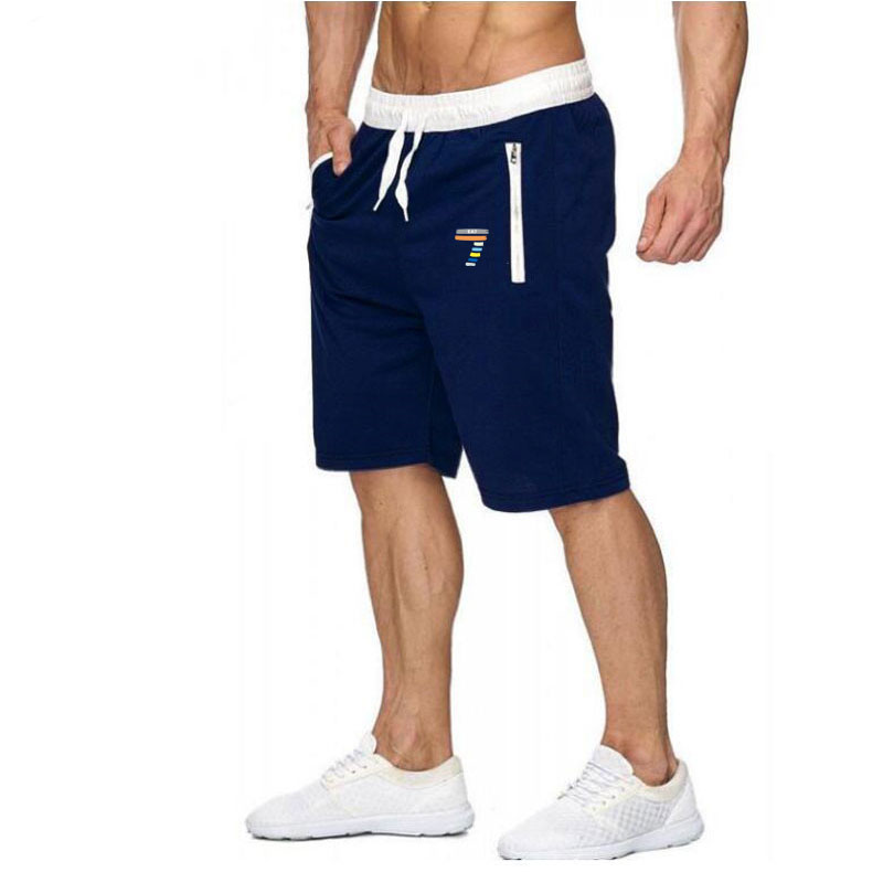 2019 new 7 word   shorts   men's special offer casual beach   shorts   men's high quality waist stretch fashion brand increase size 2XL