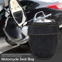 Motorfiets Scooter Seat Bag Scooter Onder Seat Storage Bag Organizer PU Leather Onder Seat Storage Pouch(China)