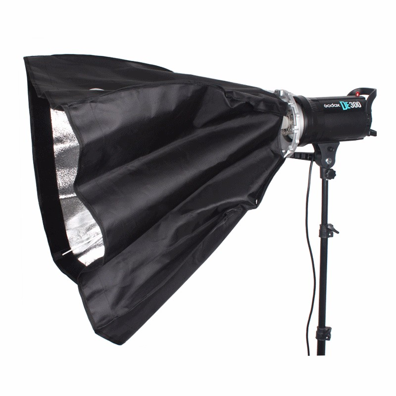 Godox 70x100cm Photo studio photography Rectangular Umbrella Softbox with Bowens caliber for Speedlite Photo Strobe Studio-in Photo Studio Accessories from Consumer Electronics    2