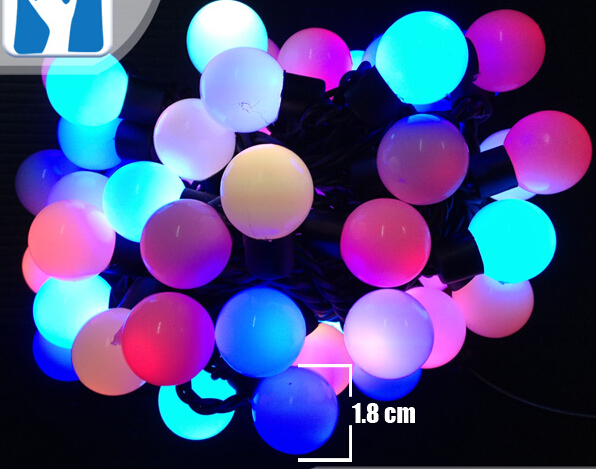 16.5Ft Red White Purple Green Blue Yellow Warm White Pink RGB String ...