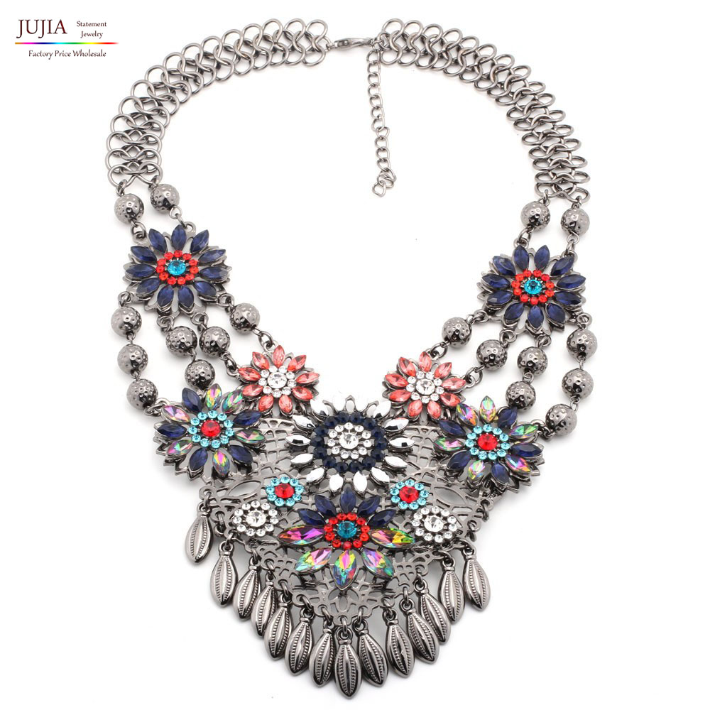 new fashion necklaces chunky luxury choker metal