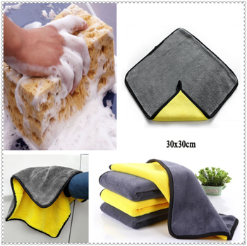 Car wash Washing Sponge Block Drying Towel FOR Peugeot 206 307 406 407 207 208 308 508 2008 3008 4008 6008 301 408 image