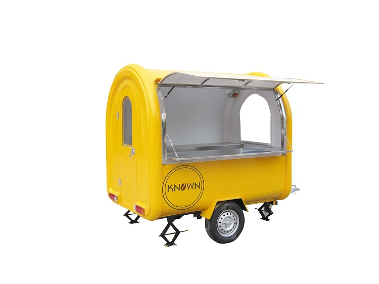 все цены на Free shipping to USA United States 110V standard snack /coffee /ice cream food trailer/cart/truck with 3 water tanks