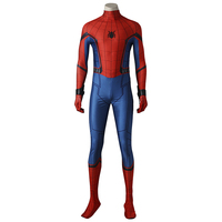 Spider Man Cosplay Costume Peter Benjamin Parker Spider Man Homecoming Cosplay Outfit Halloween Superhero Men Adult