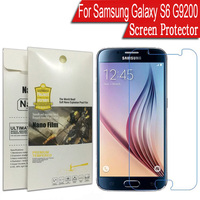 For Samsung Galaxy S6 G9200 Screen Protector G9200 G920F Protective Film Ultra Thin LCD Nano Explosion-proof Protector Cover