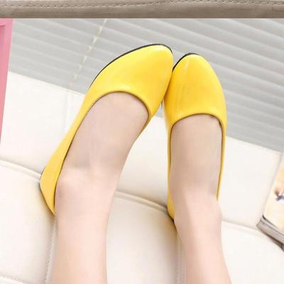 2018 new women leather shoes woman single shoes shallow round tow spring autumn ballet flats shoes women casual shoes =2018 NEW women Leather Shoes Woman Single Shoes Shallow Round Tow Spring Autumn Ballet Flats Shoes women casual shoes