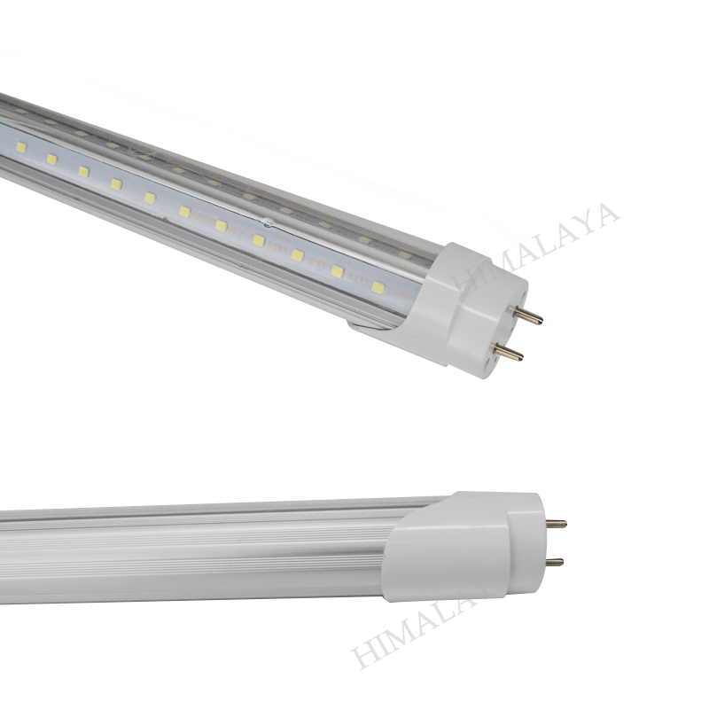Toika 100pcs 40W AC85-277V 1200MM <font><b>4ft</b></font> <font><b>T8</b></font> v-shaped <font><b>LED</b></font> <font><b>Tube</b></font> Light High brightness SMD2835 192led/PC image