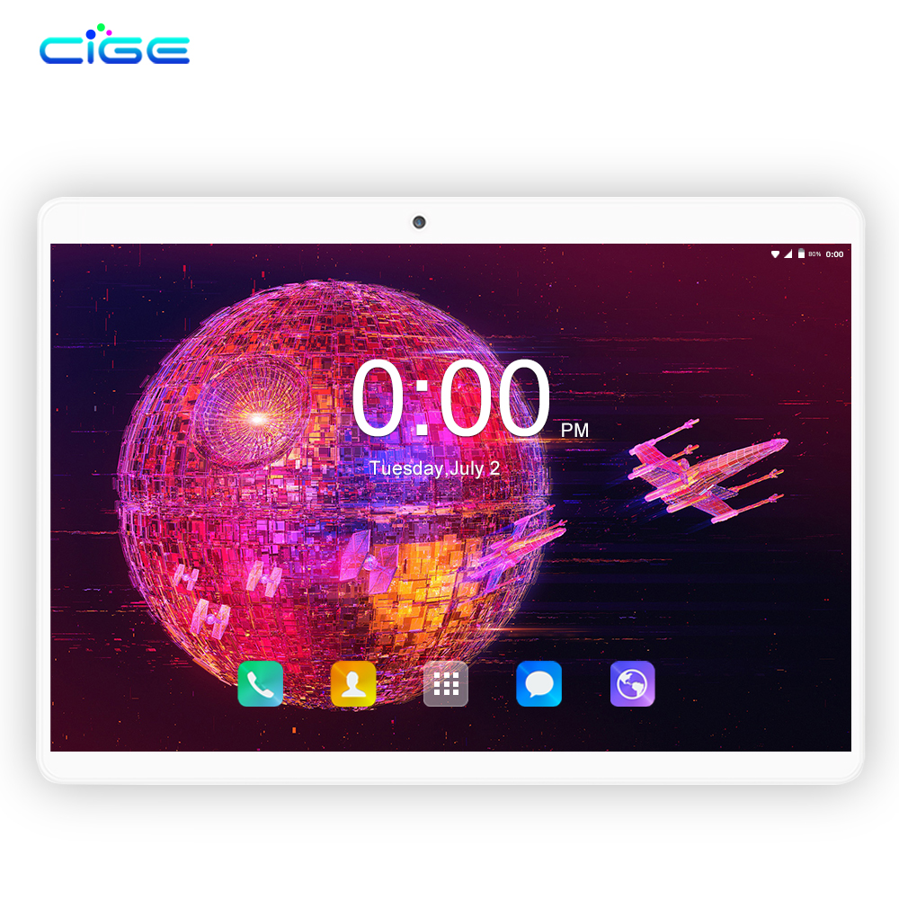 10.1 Inch Tablet Pc Android Tablet 1280*800 IPS 4GB+64GB Dual SIM 4G Tablet Octa Core Android 8.0 Bluetooth WiFi Tablets 10