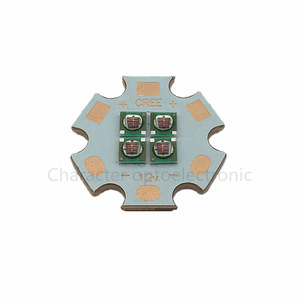 5x Cree 10W XPE XP-E 3V 6V 12V 4Chips LED Emitter Instead of MKR XML White/Warm White/Blue/Green/Red/Yellow/Royal Blue 20mm PCB