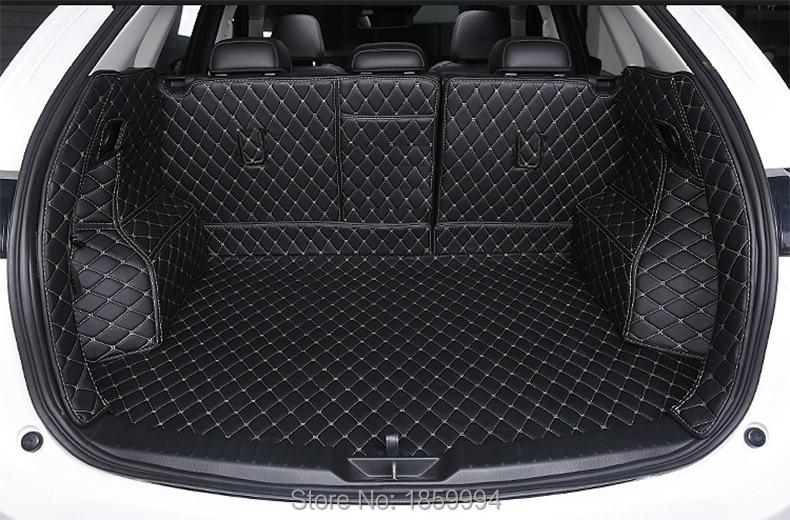 Для 2017 2018 Мазда CX-5 CX5 КФ задний хвост багажник коврик прочный ботинок ковры