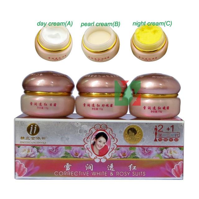100% original yiqi Beauty Whitening remove frekcle C+C+C cream