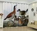 Gordijn 3d Gelukkig Ducks 3d Dier Gordijnen Woonkamer Slaapkamer Mooie Praktische Verduisterende Gordijnen