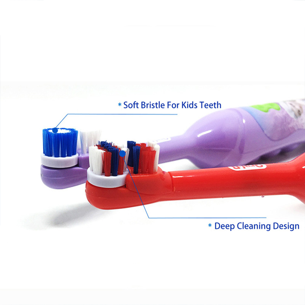 Oral B Sonic Toothbrush for Children Oral Care Kids Battery Power Rotating Tooth brush For Child 3+ 4