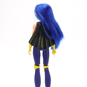 Image 2 - 30 см 1/6 супер герой девушки золотые/синие волосы супер герой чудо женщина Суперженщина кукла девушка игрушки для детей Figma подвижная шарнирная кукла