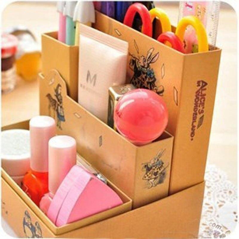 Multifunction Paper Pencil Holder Organizer Stationery