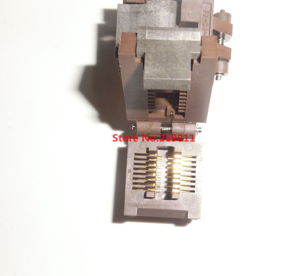 FP-16-1.27-05 SOP16 SOIC16 3.9mm Width 1.27 Pitch IC Test Burn-In Socket Enplas