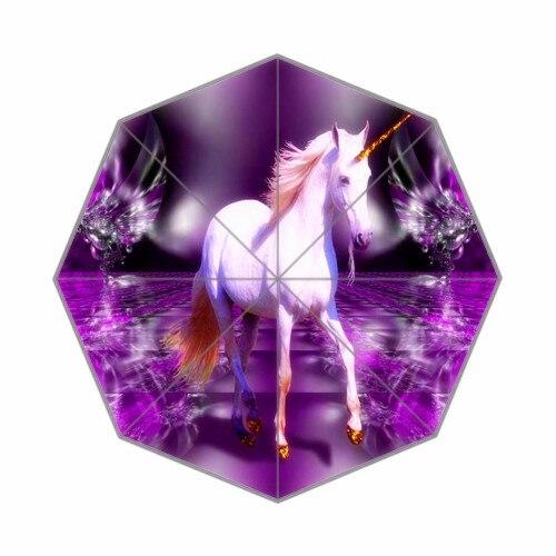 Fashion Design Unicorno Sfondi Per Desktop Pieghevole Ombrello