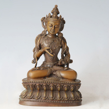 ATLIE BRONZES Bronze buddha statue Vajrasattva figurines  Buddhist temple decoration Copper Buddha