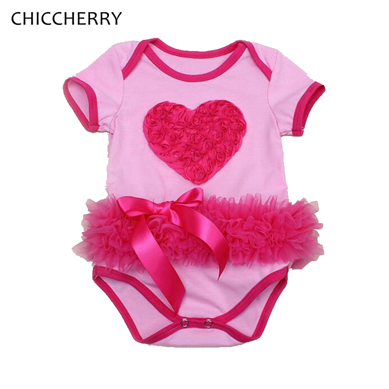 3d love lace valentine baby outfits newborn baby bodysuits jumpsuits body bebe menina toddler girls clothes infant clothing in bodysuits from mother