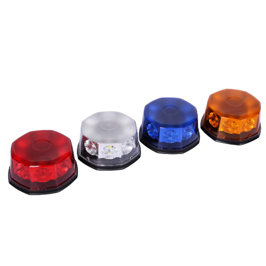 цены CYAN SOIL BAY COB 8 LED 12V Flashing Mode Car Auto Beacon Emergency Hazard Warning Strobe Light 40W Red White Blue Amber Yellow