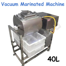 40L Vacuum Marinated Machine 220V 500W Steel Swelling Marinated Machine Commercial Economical Meat Salting Machine YA-908