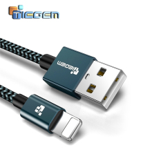 TIEGEM For iPhone 7 Cable Fast Charger Adapter 8 Pin USB Cable car For iPhone 6 6S Plus 5 5S SE X 8 iPad Mobile Phone charging micro usb cable to 8 pin adapter for iphone 8 7 6 6s 5 5s 5c se x ipad converter charger 8pin female adapter
