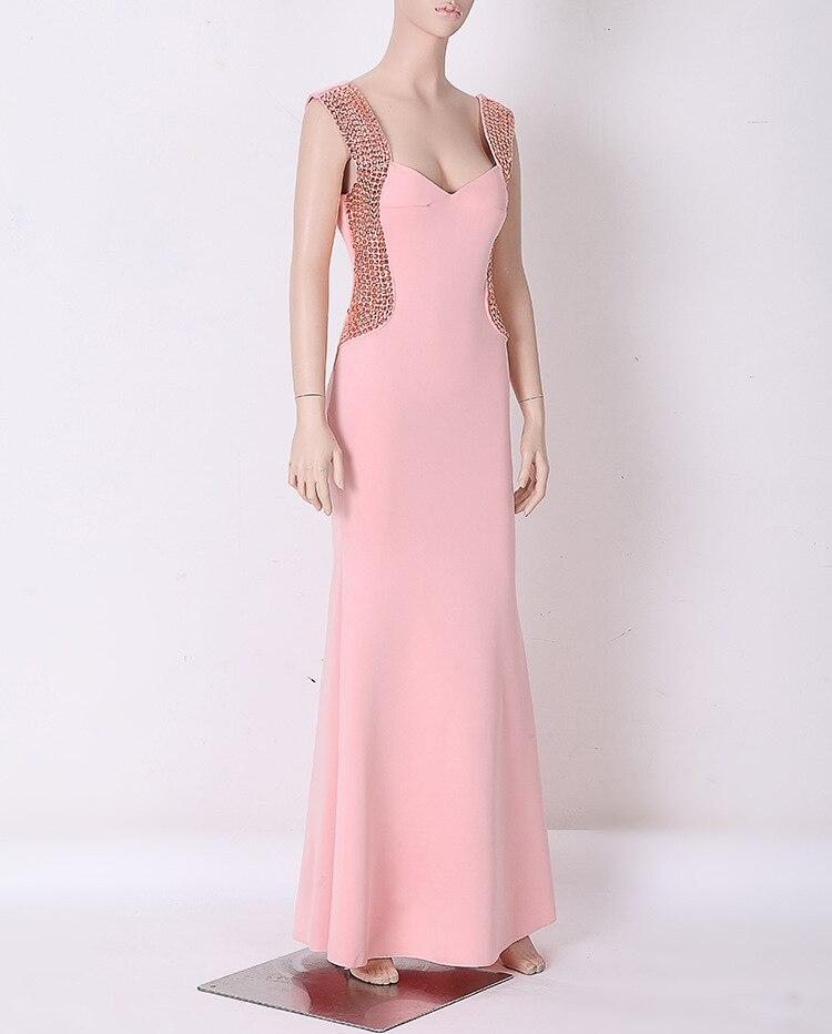 Corzzet Elegant Night Dresses V Cup Back Lace Up Dresses Formal ...