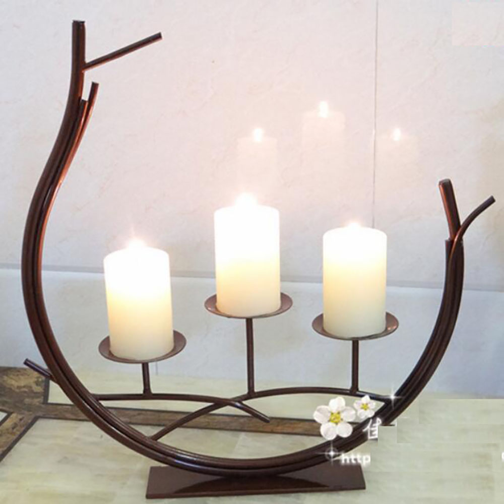 Candle Stand Wedding Candlestick Candelabra Fashion Dining Table Home Decoration Handmade Holder Hot Sel In Holders From
