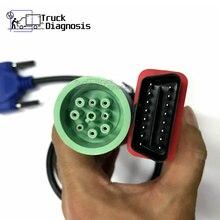 9Pin Aan Obdii Kabel Voor DPA5 Portocol Adapter 5 Obd ii Diagnose Kabel