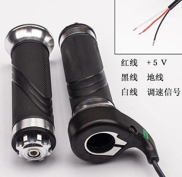 Wuxing twist gaz roulement poignées gaz guidon universel Installer pour vélo électrique scooter moto VTT PÉDALE SCOOTER