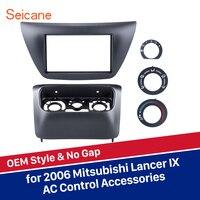 Seicane refitting OEM 2 din car radio panel Fascia F rame cover trim bezel for Mitsubishi Lancer IX 173*98/178*100/178*102mm