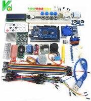 Free Shipping 100 New Mega 2560 R3 Starter Kit Motor Servo RFID Ultrasonic Ranging Relay LCD