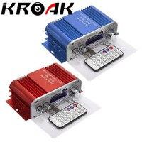 KROAK 2 Channel Hi Fi Audio Stereo Mini Amplifier Car Home MP3 USB FM SD W