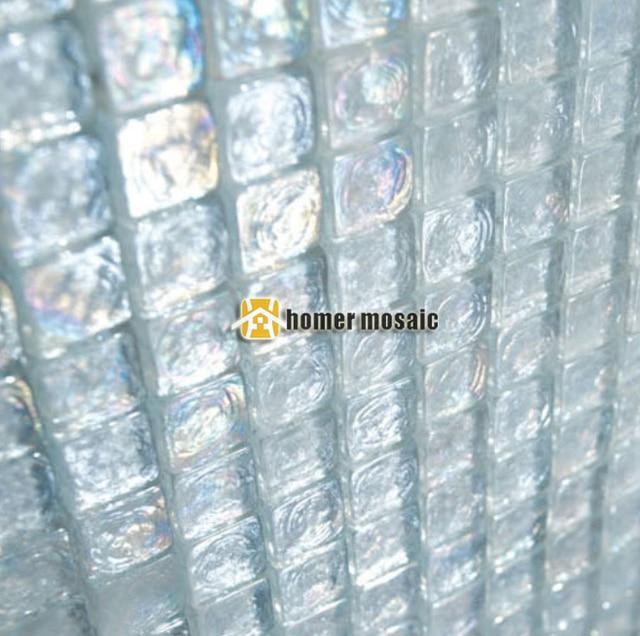 Blanco EHGM1034 para piscina azulejos de mosaico de vidrio azulejos ...