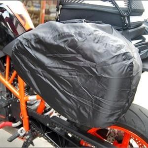 Image 3 - Ensemble de sacoches étanches pour Moto, 1 sac de selle étanche pour casque, sacoche latérale, valise de bagage, sac de réservoir de carburant, SA212