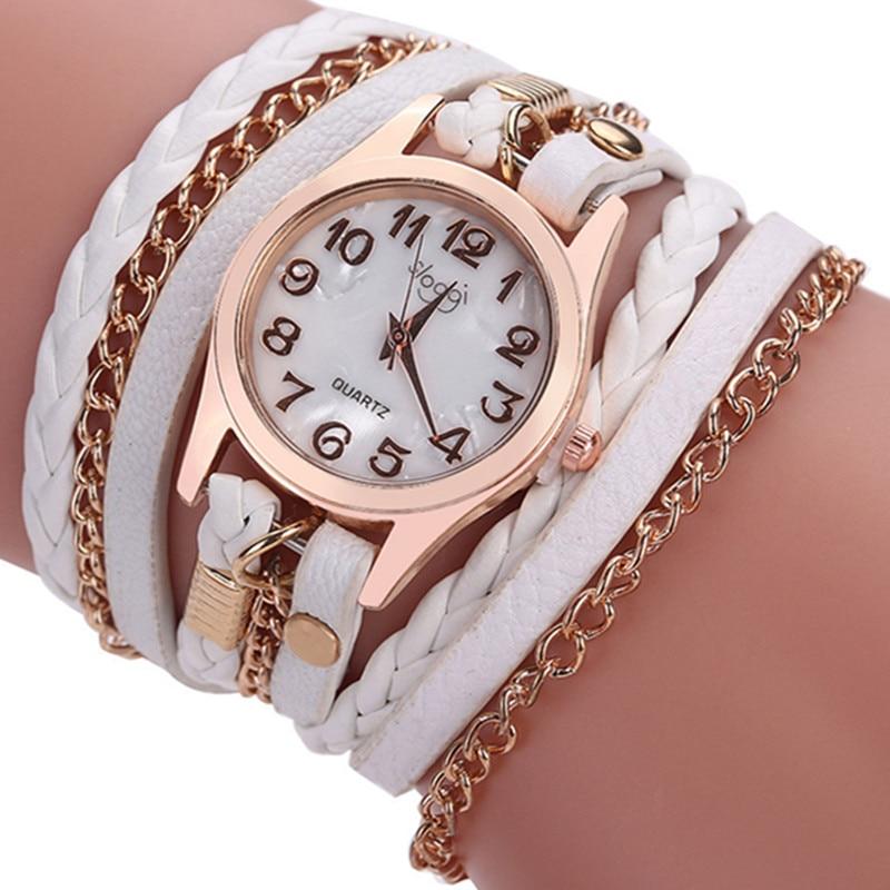 2017 Hot Sale Fashion Casual Wrist Watch Leather Bracelet Women Watches Relogio Feminino Laides Antique Quartz Watch Clock AC086