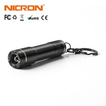NICRON Micro Mini Flashlight Outdoor 20LM 24M 1xAAA Battery 10Hours Key Chain Light Lamp Waterproof IPX4 For Home LED Torch N1