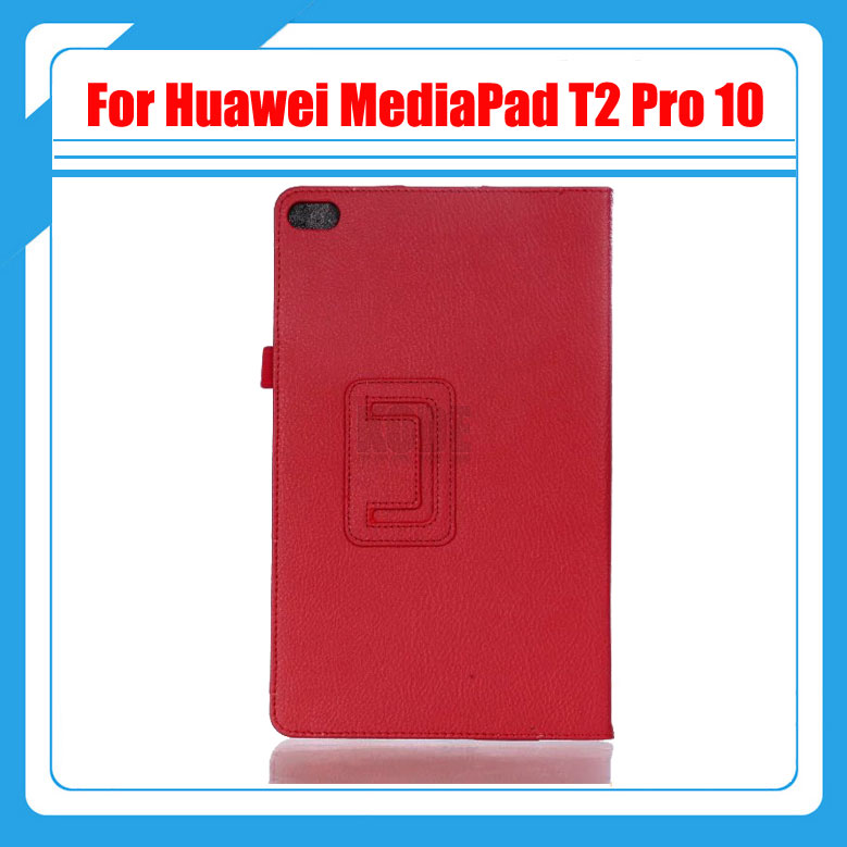 3 in 1 Pu Leather Litchi Stand  Cover Case For Huawei MediaPad T2 Pro 10 FDR-A01W FDR-A03L Tablet PC + Screen film + Stylus pu leather case cover for huawei mediapad yougth t2 pro 10 inch tablet tpu protective case for huawei m2 fdr a01w fdr a03l gifts